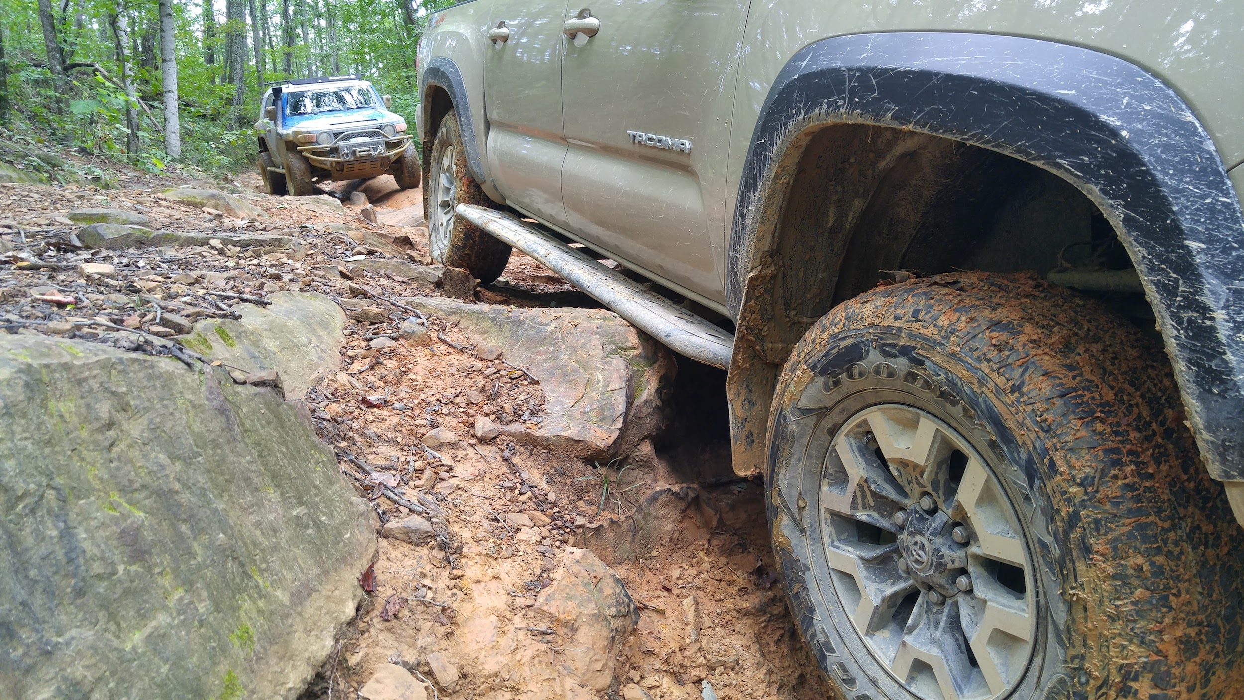 Rock Sliders | Tacoma 3rd Gen | BudBuilt Off-Road and Overland