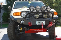 07-09 FJ Cruiser 4 Piece Combo