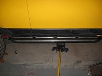 07-14 FJ Cruiser Sliders, Straight, Beefy