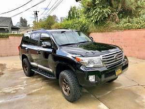 2008-2018 Land Cruiser Step Sliders