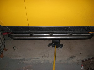 2007-2014 FJ Cruiser Sliders - Straight & Beefy