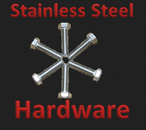 Diff Skid Hardware-Stainless Steel (ONLY)