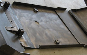 2003-2009 4th Gen 4Runner Mid Skid Plate