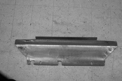 2007-2009 FJ Cruiser Filler Plate, Stock
